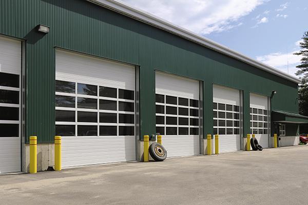 commercial sectional garage doors